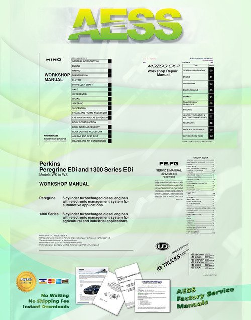 Product picture Linkbelt 700LX Series Excavator Service Manual